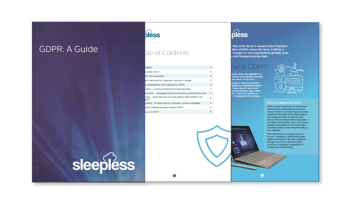A Cloud Providers GDPR Guide