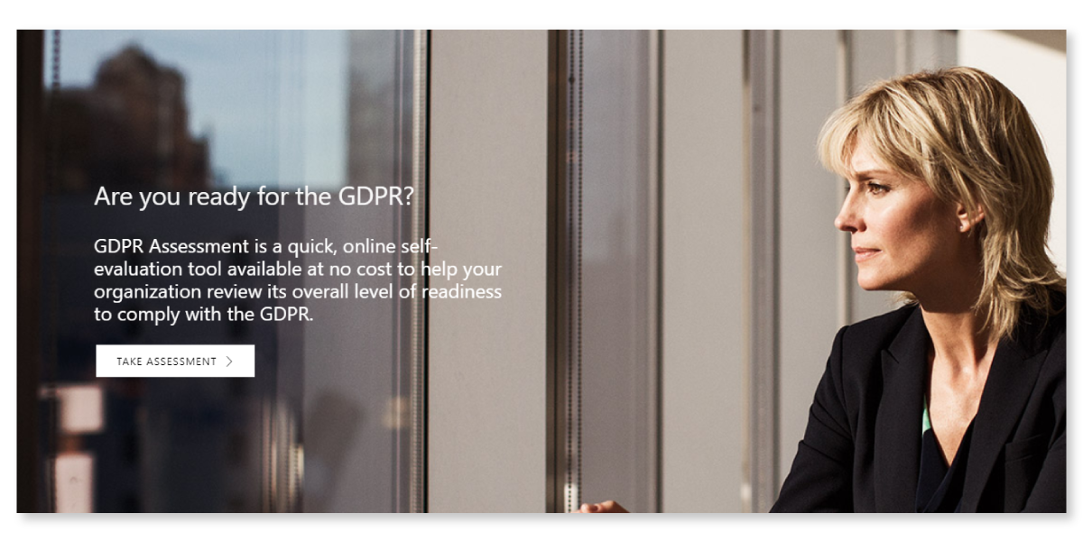Assess your readiness for GDPR – take the Free online assessment