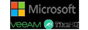 Featuring Microsoft, Veeam & titan HQ